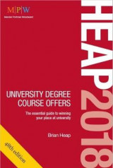 Omslag - Heap 2018: University Degree Course Offers