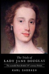 Omslag - The Trials of Lady Jane Douglas