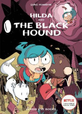 Omslag - Hilda and the Black Hound