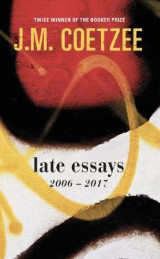 Omslag - Late Essays