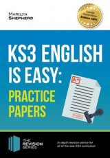 Omslag - KS3: English is Easy - Practice Papers. Complete Guidance for the New KS3 Curriculum (Revision Series)