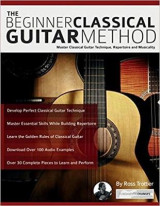 Omslag - The beginner classical guitar method