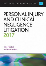 Omslag - Personal Injury and Clinical Negligence Litigation 2017