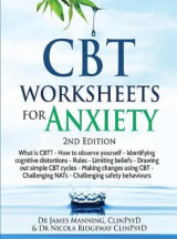 Omslag - CBT Worksheets for Anxiety - 3rd Edition