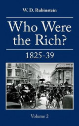Omslag - Who Were the Rich? : British Wealth Holders