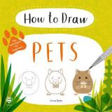 Omslag - How to Draw Pets