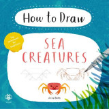 Omslag - How to Draw Sea Creatures