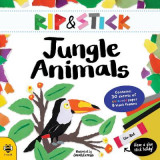 Omslag - Rip and Stick Jungle Animals Activity Book