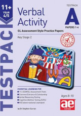 Omslag - 11+ Verbal Activity Year 4/5 Testpack A Papers 1-4