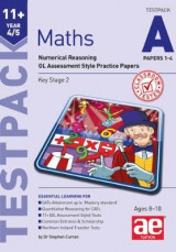 Omslag - 11+ Maths Year 4/5 Testpack a Papers 1-4