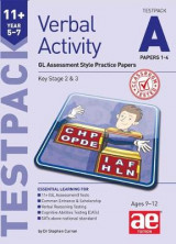 Omslag - 11+ Verbal Activity Year 5-7 Testpack A Papers 1-4