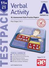 Omslag - 11+ Verbal Activity Year 5-7 Testpack A Papers 5-8