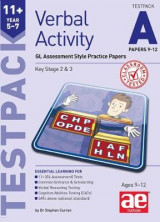 Omslag - 11+ Verbal Activity Year 5-7 Testpack A Papers 9-12