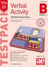 Omslag - 11+ Verbal Activity Year 5-7 Testpack B Papers 1-4