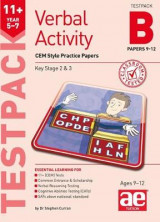 Omslag - 11+ Verbal Activity Year 5-7 Testpack B Papers 9-12