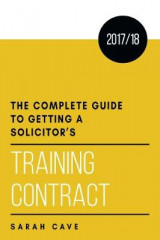 Omslag - The complete guide to getting a solicitor's training contract 2017/18