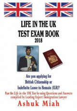 Omslag - Life in the UK test exam book 2018