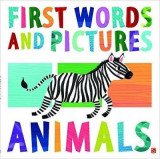 Omslag - First Words & Pictures: Animals