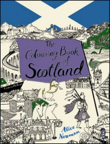 Omslag - The Colouring Book of Scotland
