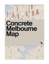 Omslag - Concrete Melbourne Map