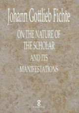 Omslag - On the Nature of the Scholar and Its Manifestations
