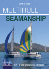 Omslag - Multihull Seamanship - A A-Z of skills for catamarans & trimarans /cruising & racing 2e