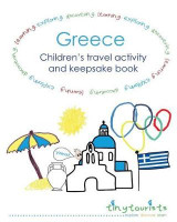 Omslag - Greece! Children's Travel Activity and Keepsake Book