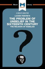 Omslag - The Problem of Unbelief in the 16th Century