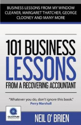 Omslag - 101 Business Lessons From a Recovering Accountant: