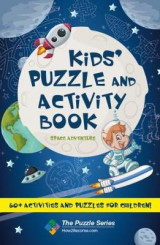 Omslag - Kids' Puzzle and Activity Book: Space & Adventure!