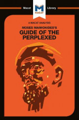 Omslag - Moses Maimonides's Guide of the Perplexed
