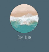 Guest Book, Guests Comments, Visitors Book, Vacation Home Guest Book, Beach House Guest Book, Comments Book, Visitor Book, Nautical Guest Book, Holiday Home, Retreat Centres, Family Holiday Guest Book (Hardback) av Lollys Publishing (Innbundet)