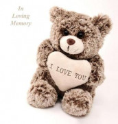 In Loving Memory Funeral Guest Book, Celebration of Life, Wake, Loss, Memorial Service, Love, Condolence Book, Funeral Home, Missing You, Church, Thoughts and In Memory Guest Book, Teddy (Hardback) av Lollys Publishing (Innbundet)