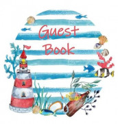 Guest Book, Visitors Book, Guests Comments, Vacation Home Guest Book, Beach House Guest Book, Comments Book, Visitor Book, Nautical Guest Book, Holiday Home, Retreat Centres, Family Holiday Guest Book, Bed & Breakfast (Hardback) av Lollys Publishing (Innbundet)
