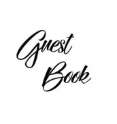 Black Guest Book, Weddings, Anniversary, Party's, Special Occasions, Memories, Christening, Baptism, Visitors Book, Guests Comments, Vacation Home Guest Book, Beach House Guest Book, Comments Book, Wake, Funeral and Visitor Book (Hardback) av Lollys Publishing (Innbundet)
