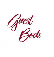 Burgundy Guest Book, Weddings, Anniversary, Party's, Special Occasions, Memories, Christening, Baptism, Visitors Book, Guests Comments, Vacation Home Guest Book, Beach House Guest Book, Comments Book, Funeral, Wake and Visitor Book (Hardback) av Lollys Publishing (Innbundet)