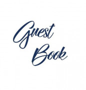 Navy Blue Guest Book, Weddings, Anniversary, Party's, Special Occasions, Memories, Christening, Baptism, Visitors Book, Guests Comments, Vacation Home Guest Book, Beach House Guest Book, Comments Book, Funeral, Wake and Visitor Book (Hardback) av Lollys Publishing (Innbundet)