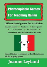 Omslag - Photocopiable Games For Teaching Italian