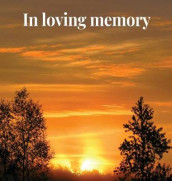 Memorial Guest Book (Hardback cover) av Lulu and Bell (Innbundet)