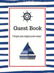 Nautical Guest Book Hardcover av Lulu and Bell (Innbundet)