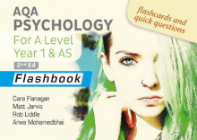 AQA Psychology for A Level Year 1 & AS Flashbook: 2nd Edition av Cara Flanagan, Matt Jarvis, Rob Liddle og Arwa Mohamedbhai (Heftet)