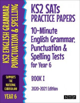 Omslag - KS2 SATs Practice Papers 10-Minute English Grammar, Punctuation and Spelling Tests for Year 6