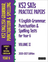 Omslag - KS2 SATs Practice Papers 4 English Grammar, Punctuation and Spelling Tests for Year 6