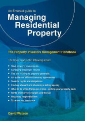 An Emerald Guide To Managing Residential Property av David Watson (Heftet)