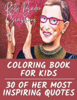 Omslag - Ruth Bader Ginsburg Coloring Book for Kids