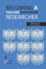 Omslag - Becoming a teacher education researcher