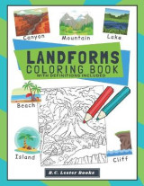 Omslag - Landforms Coloring Book With Definitions Included