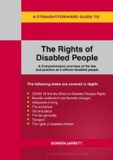 Omslag - The Rights Of Disabled People