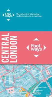 Footways Central London av Charlie Peel (Kart, falset)