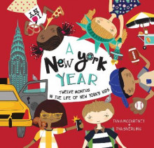 A New York Year av Tania McCartney (Innbundet)